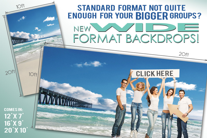 Wide Format Backdrops